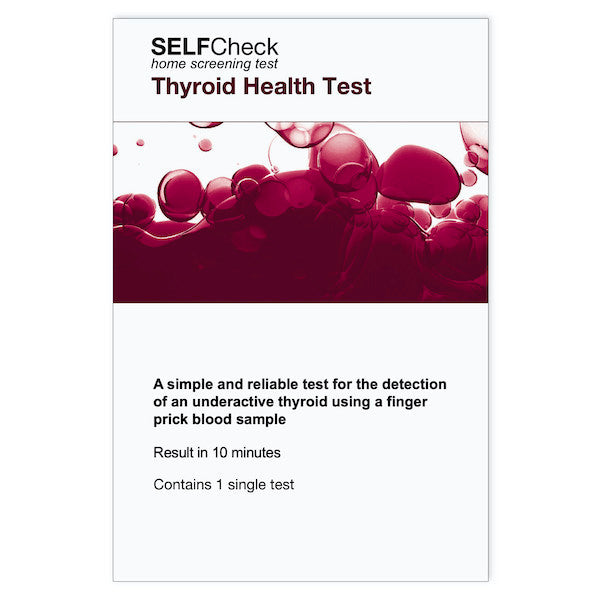 SELFCheck Thyroid Health Test- 1 TestCosmetics Online IE