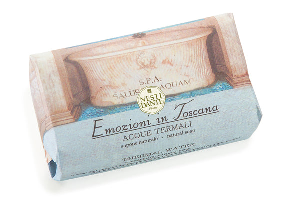 Nesti Dante Emozioni in Toscana -Thermal Waters 250gm Soap BarCosmetics Online IE