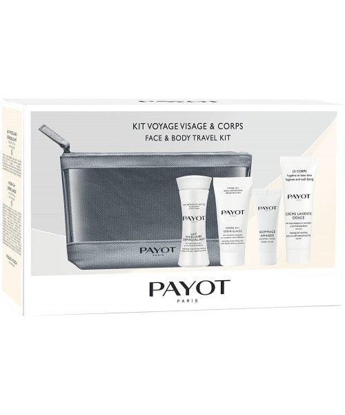 Payot Travel Kit Top To Toe ( Face&Body 4 Travel sizes with Pouch)Cosmetics Online IE