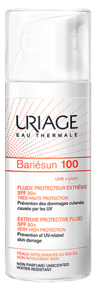 NEW- URIAGE BARIÉSUN 100 Extreme Protective Fluid SPF50+ Very High Protection – 50mlCosmetics Online IE