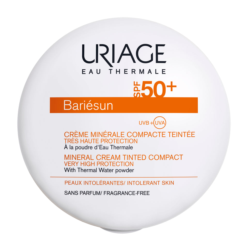 URIAGE Bariésun Mineral Cream Tinted Compact SPF50+ (Clair) Fair – 10gCosmetics Online IE