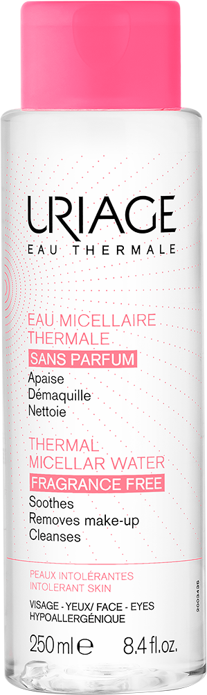 URIAGE Thermal Micellar Cleansing Water (Intolerant Skin- Fragrance Free) – 250mlCosmetics Online IE