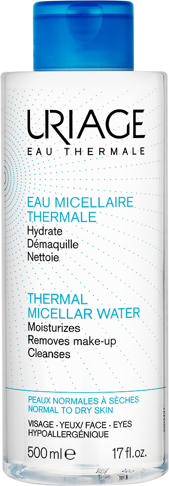URIAGE Thermal Micellar Cleansing Water (Normal to Dry Skin) – 500mlCosmetics Online IE