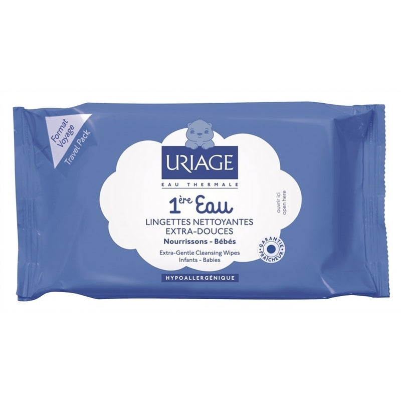 URIAGE Baby's 1st Extra-Gentle Cleansing Wipes (25 Pack)