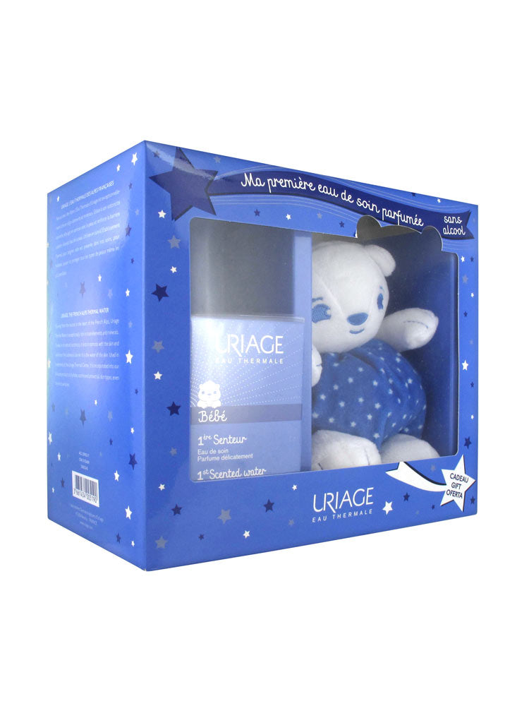 Uriage 1st Scented Baby Water 50ml + Teddy