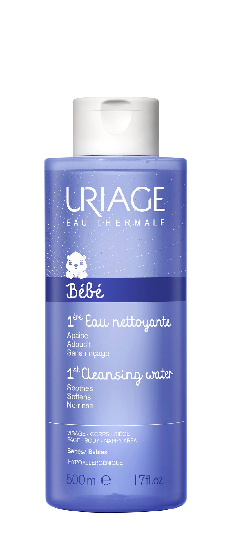 Uriage Baby's 1st Cleansing Water - 500ml - CosmeticsOnline.ie