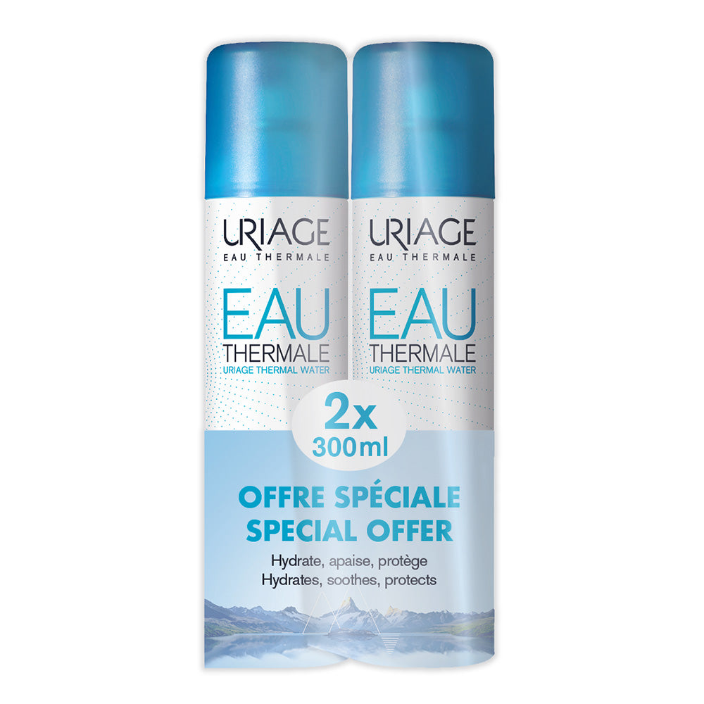 Uriage Eau Thermale Water 300ml x2 Duo