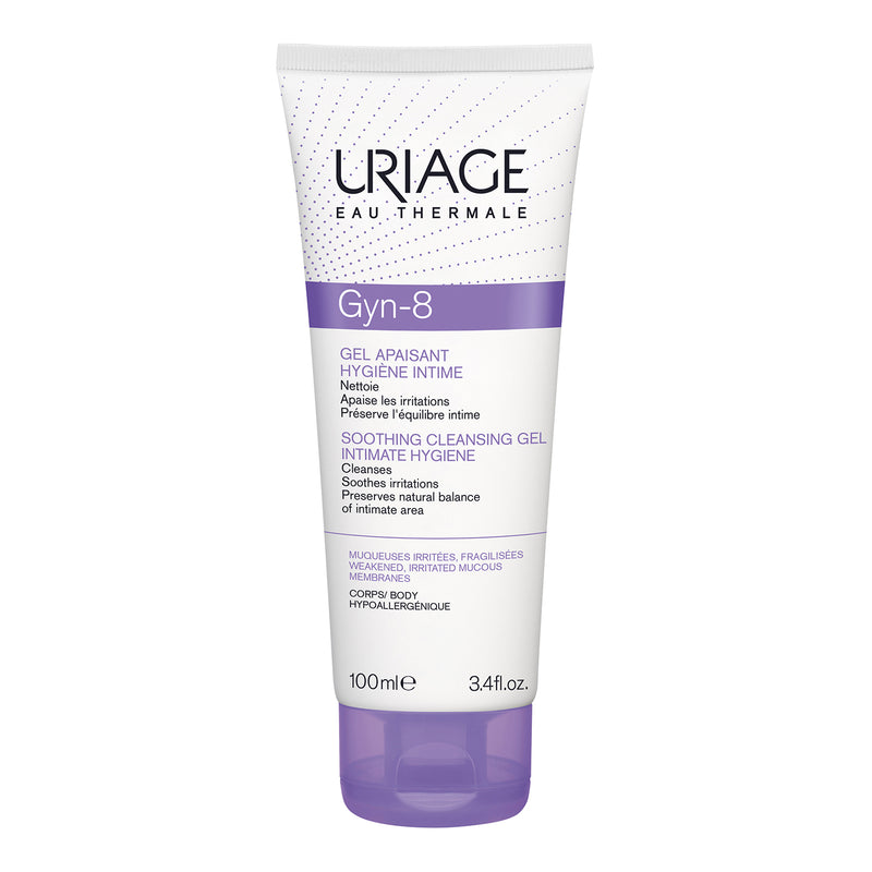Uriage Gyn 8 Intimate Hygiene Soothing Cleansing Gel - 100ml