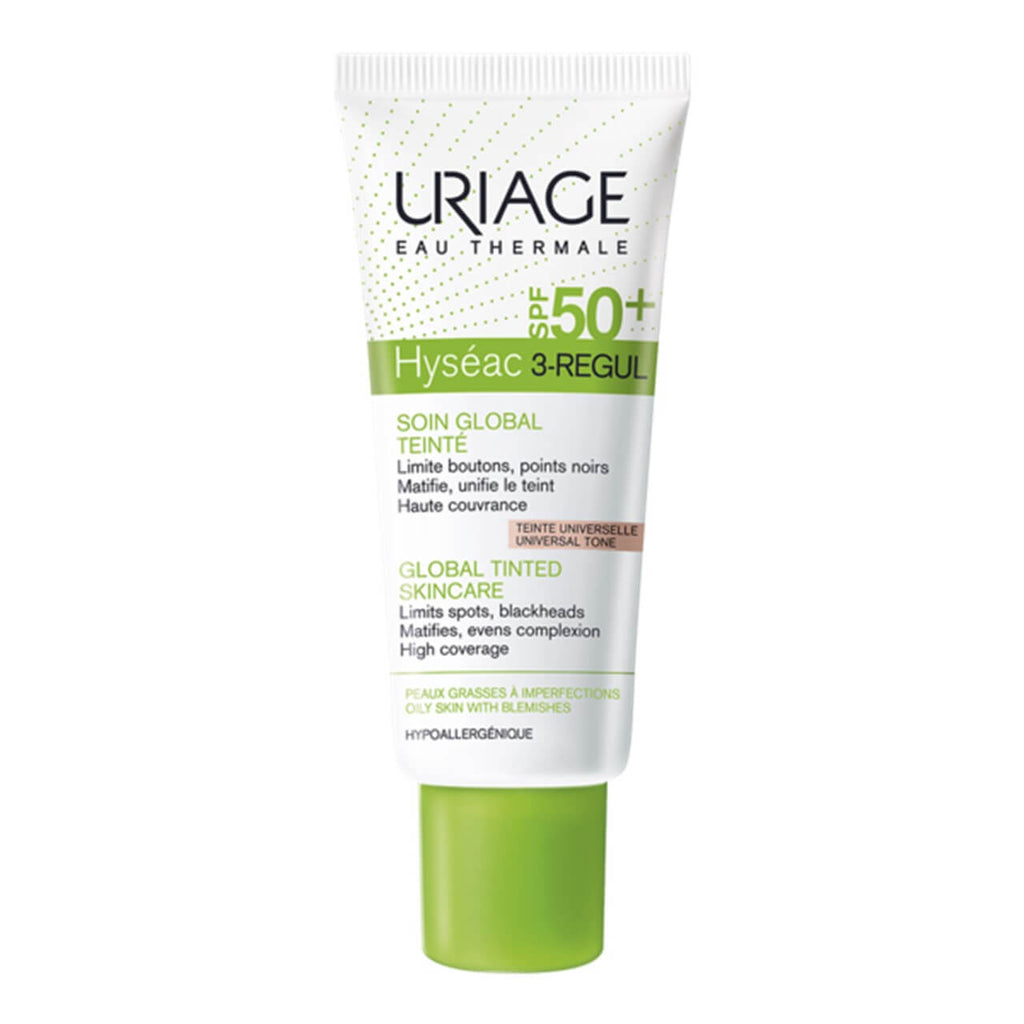 Uriage Hyséac 3-Regul Global Tinted Skin Care SPF50 40ml