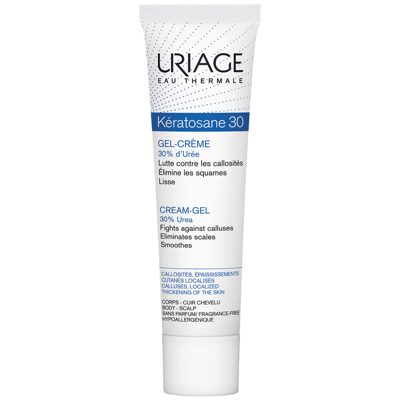 Uriage Keratosane 30 Cream- Gel Treatment for Callused Skin - 40ml