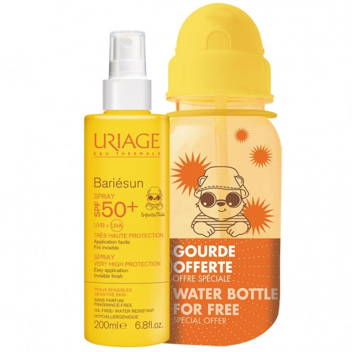 Uriage Promo Bariesun SPF50+ 200ml + Water Bottle