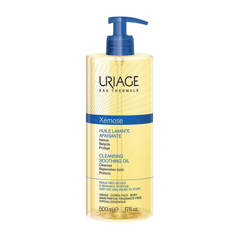 Uriage Xémose Cleansing Soothing Oil 500ml