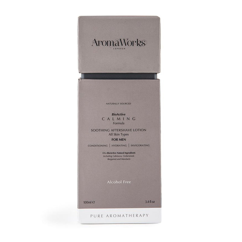 AromaWorks Mens Calming Aftershave Lotion 100mlCosmetics Online IE