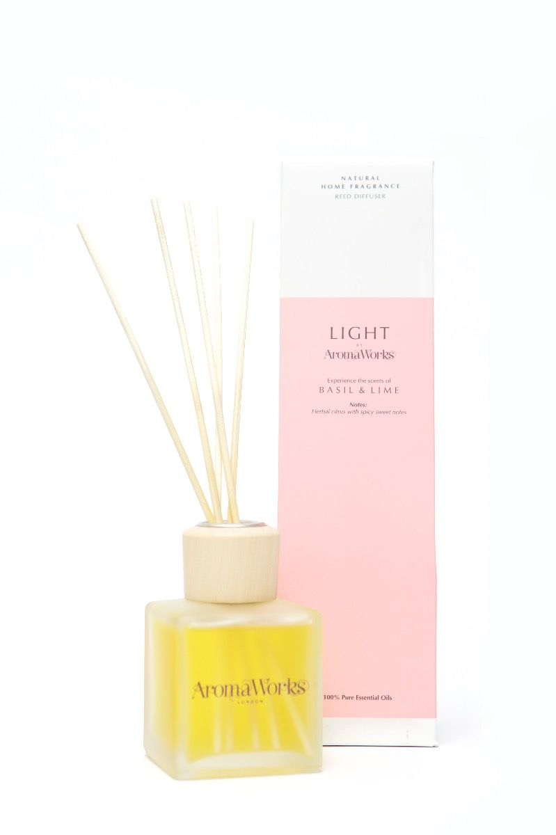 AromaWorks Basil & Lime Reed DiffuserCosmetics Online IE