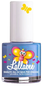 LALLABEE -Childrens Water-based nail polish (113 Fata Turchi BLUE)Cosmetics Online IE