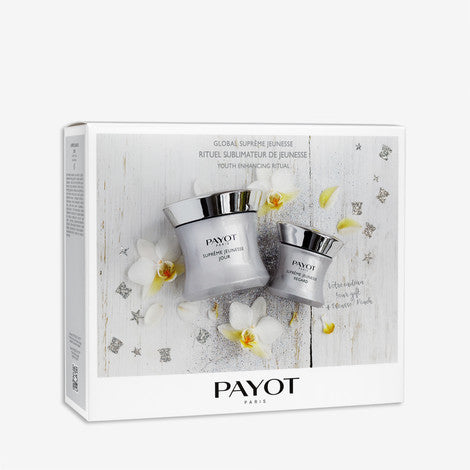 Payot Global Supreme Jeunesse Kit ( 3pce Day & Eye cream including pouch)Cosmetics Online IE