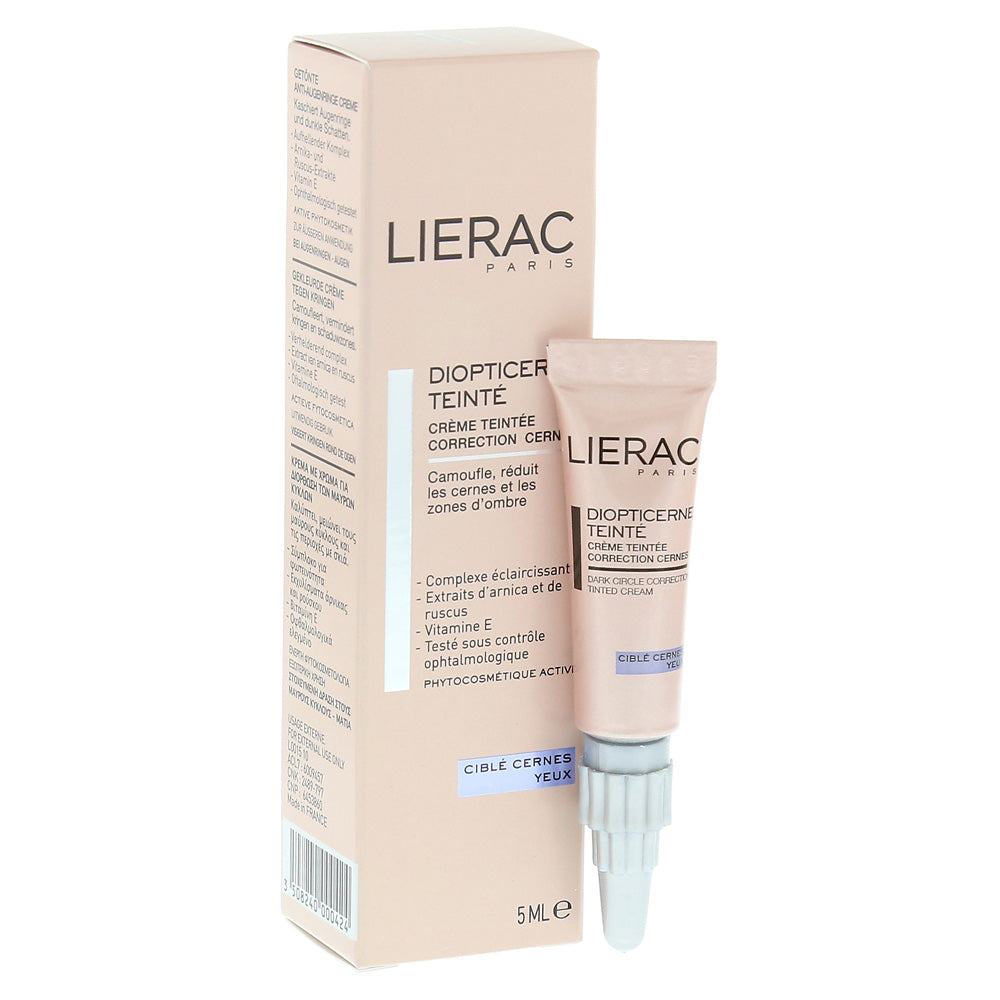 Lierac Diopticerne Dark Circle Correction Tinted Cream 5 mlCosmetics Online IE