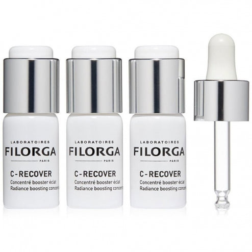 Filorga C-Recover Radiance Booster Anti-fatigue Concentrate - 3x10mlCosmetics Online IE