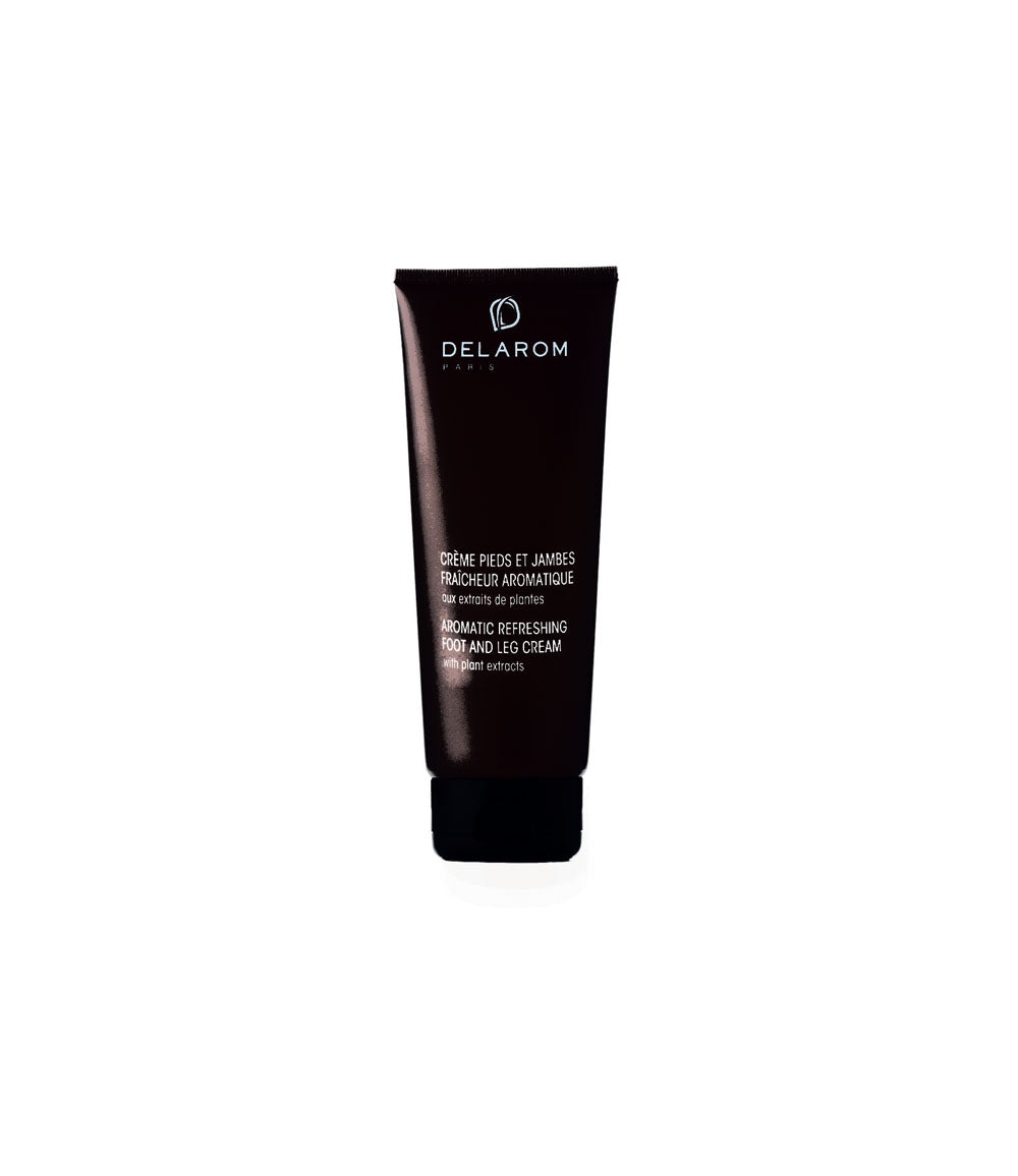 DELAROM Aromatic Refreshing Foot And Leg Cream  125mlCosmetics Online IE