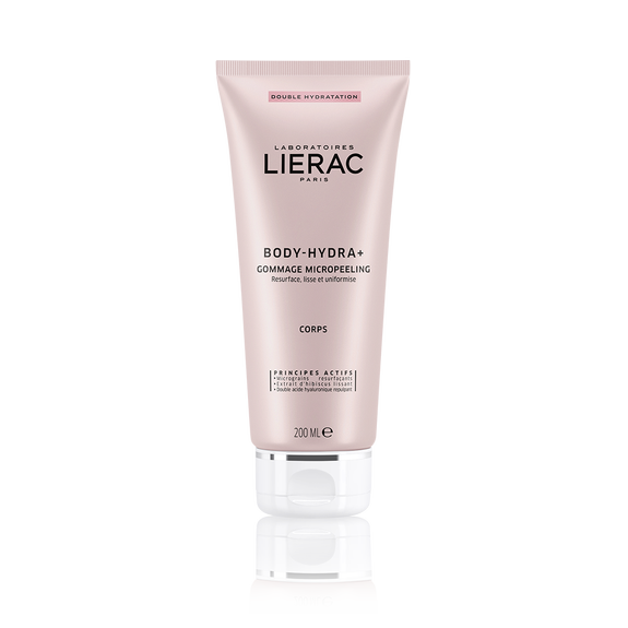 LIERAC BODY-HYDRA+ DOUBLE HYDRATION MICROPEELING SCRUB 200MLCosmetics Online IE