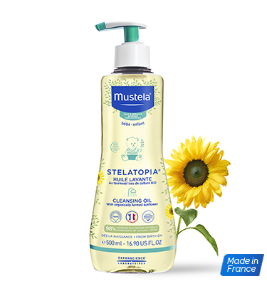 MUSTELA STELATOPIA CLEANSING OIL ATOPIC PRONE SKINS 500MLCosmetics Online IE