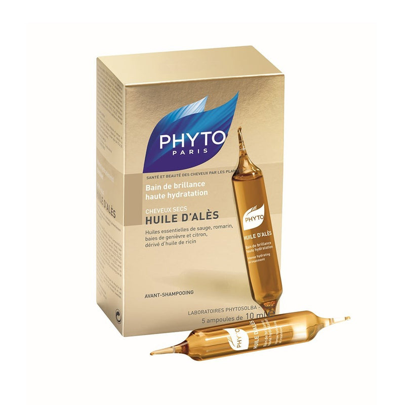 Phyto Huile D'Ales Intense Hydrating Oil Treatment 5 x 10mlCosmetics Online IE