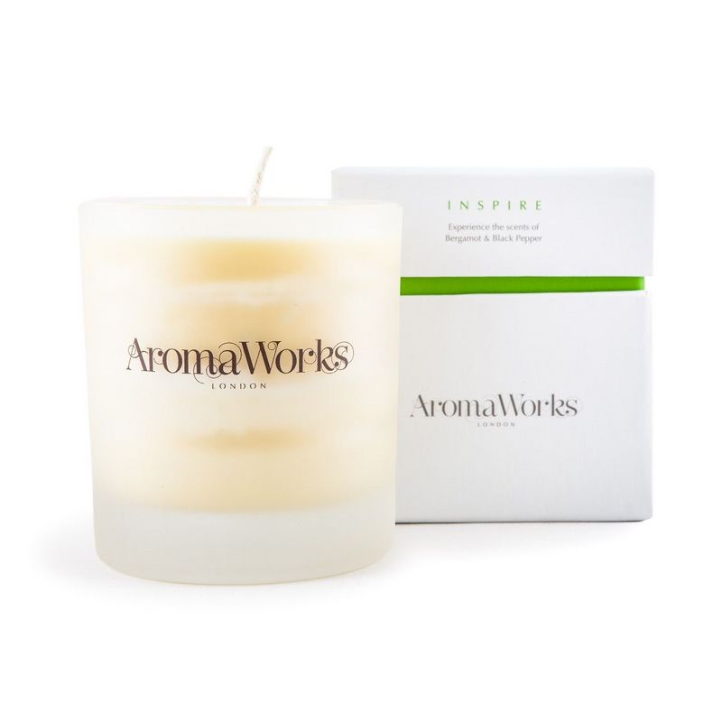 AromaWorks Inspire Candle 30cl MediumCosmetics Online IE