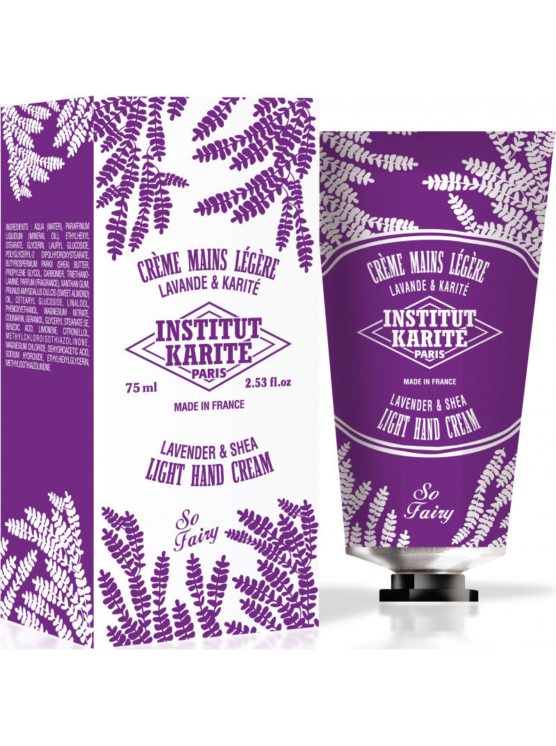 Institut Karité Paris Shea Light Hand Cream So Fairy Lavender - 70% OFFCosmetics Online IE