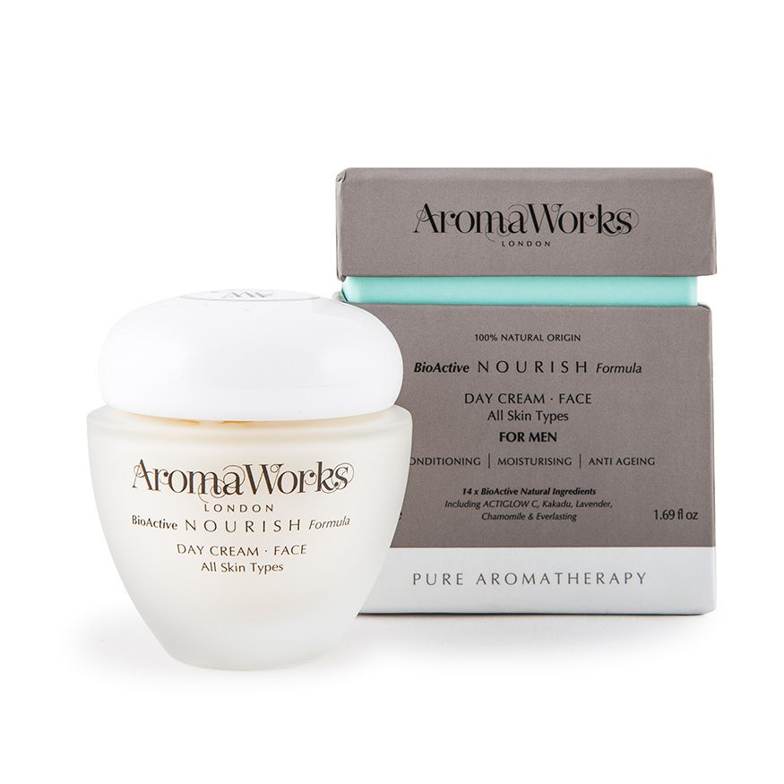 AromaWorks Mens ( Nourish ) Day Cream 50mlCosmetics Online IE