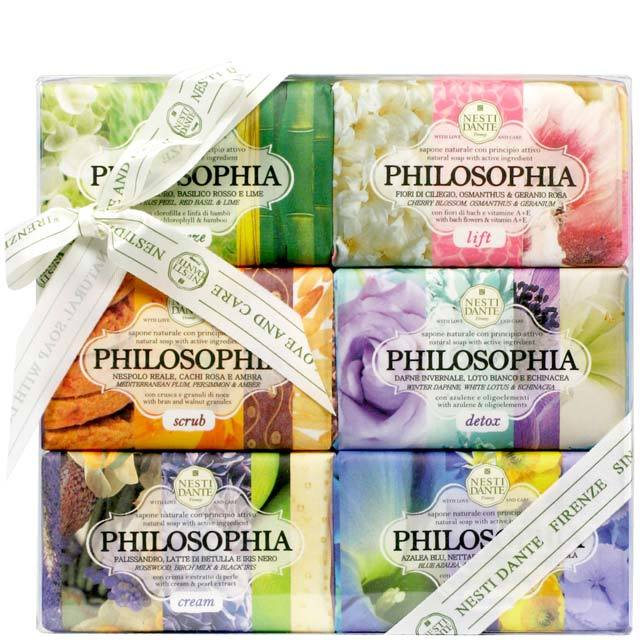 Nesti Dante Philosophia Soap Collection 6x150g-cosmetics-online