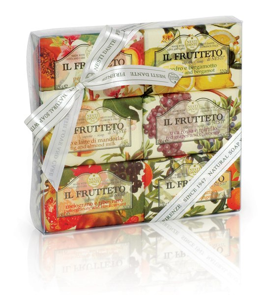Il FRUTTETO KIT soap COLLECTION 900G-cosmetics-online