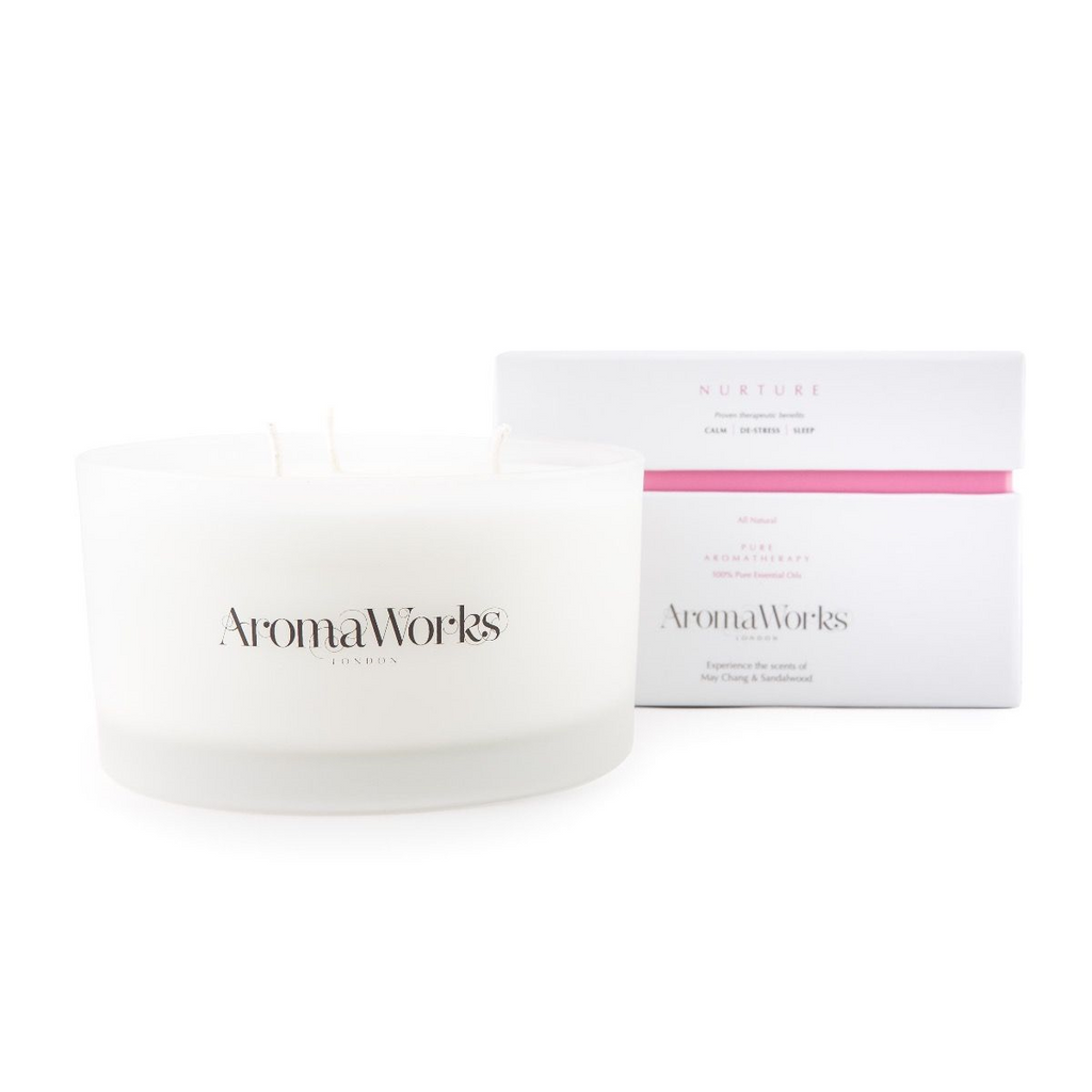 AromaWorks Nurture Candle 3-wick LargeCosmetics Online IE