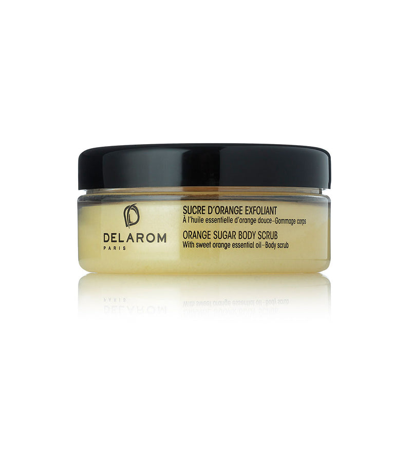 DELAROM- Natural Orange Sugar Body Scrub 200mlCosmetics Online IE