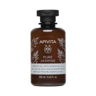 Apivita - Pure Jasmine Shower Gel with essential oils - 250 mlCosmetics Online IE