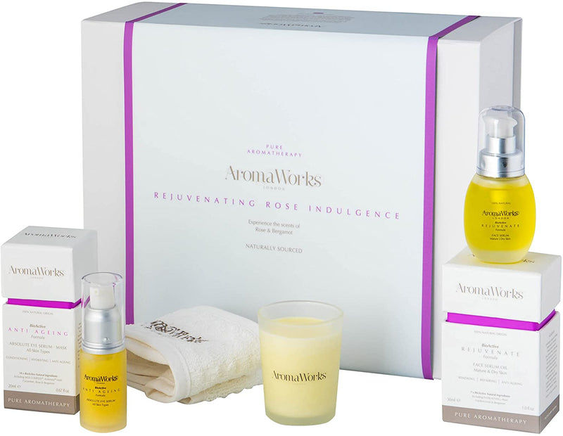AromaWorks Rejuvenating Rose Indulgence Gift SetCosmetics Online IE