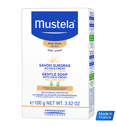 MUSTELA GENTLE SOAP WITH COLD CREAM NUTRI-PROTECTIVE 100GCosmetics Online IE