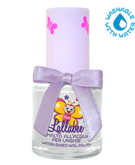 LALLABEE -Childrens Water-based nail polish (100 Lattementa Top)Cosmetics Online IE
