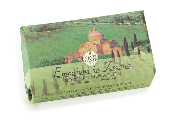 Nesti Dante Emozioni in Toscana - Villages & Monasteries 250gm Soap BarCosmetics Online IE