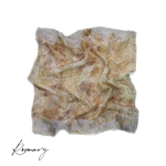 Rosemary | Botanically Dyed Silk Tarot Scarf