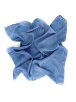 Cornflower Blue | Botanically Dyed Silk Tarot Scarf
