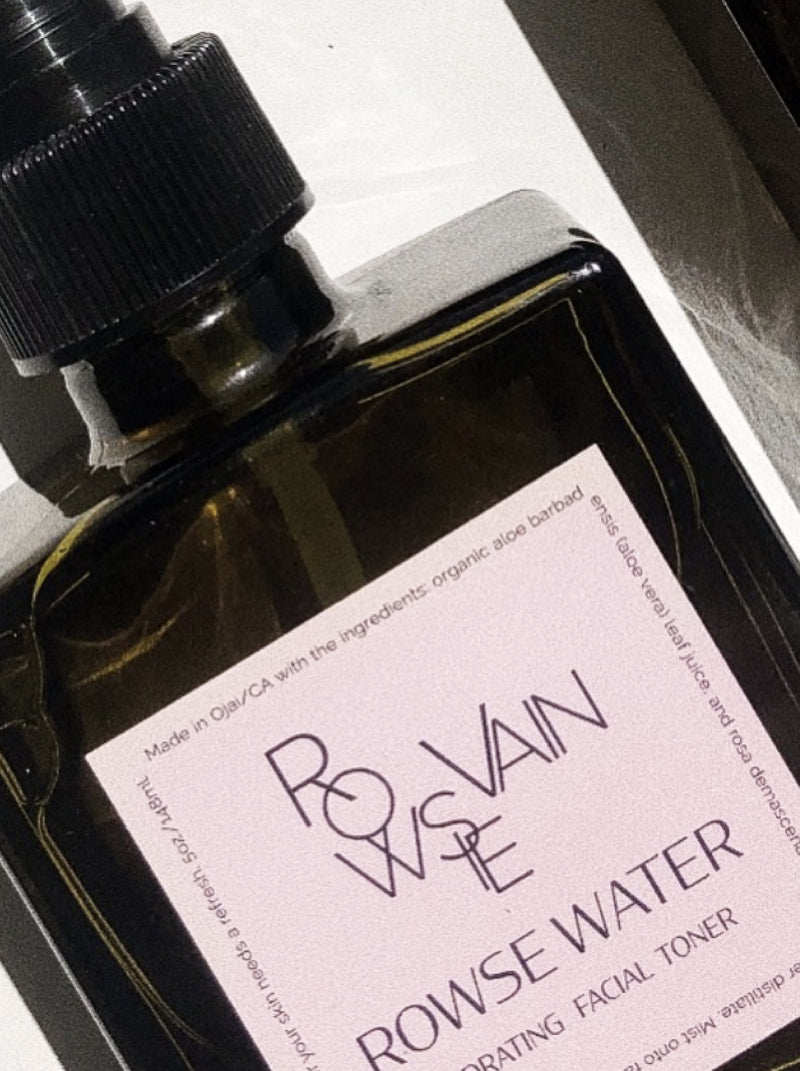 Rowse Water | Organic Toner