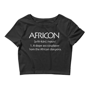 Africons (Women's Crop Top)