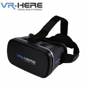 VR-HERE Virtual Reality Headset VR-BOX Mobile Phone 3D Glasses Version 2.0 96 degree  for 4.0-6.0 inch Smartphone Free Shipping