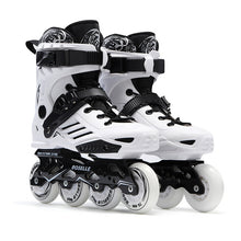New Women Girls Inline Skate Shoes Professional Freestyle Skating Boots Outdoor Roller Skates Patins White/Black