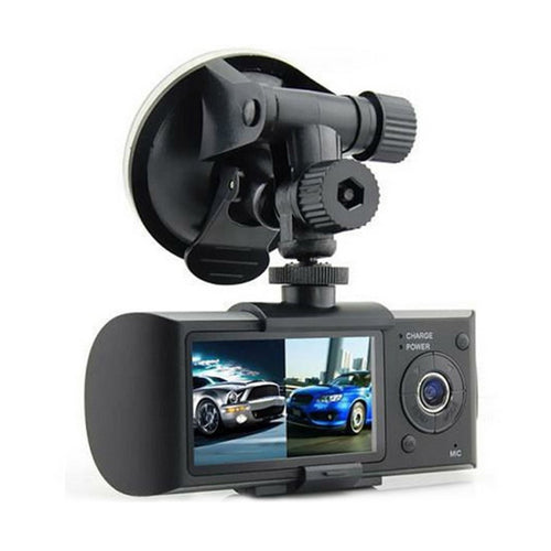 Newest Dual HD Camera Car Vehicle DVR Data Recorder Automobile Data Recorder Dual Wide Angle With GPS Trajectories Data Hot Sale