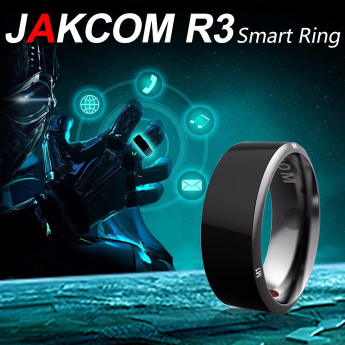 Jakcom R3 Smart Ring Wear Convenient New Technology Magic Healthy Finger NFC Ring For All NFC Mobile Phone Black Color
