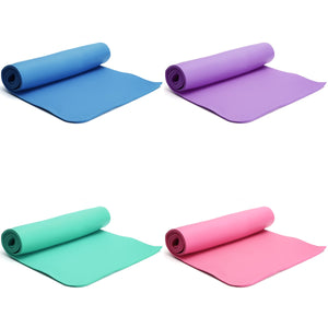 Fitness 10mm Thickess Non-Slip Yoga Mat Sport Pad Gym Soft Pilates Mats Foldable Pads for Body Building Training Exercises