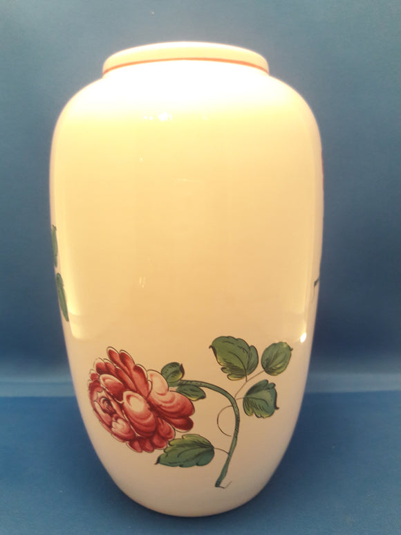 Tiffany & Co Porcelain Pottery Strasbourg Flower Vase Made In Portugal