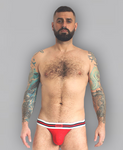 Push Up Red Jock