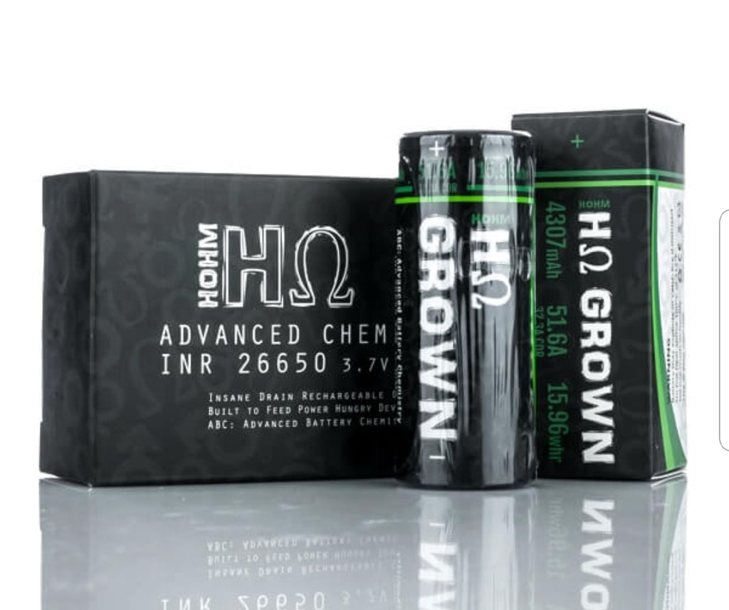 HOHM Grown Batteries - Blondies Vape Shop